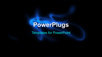PowerPoint Template - An abstract motion background